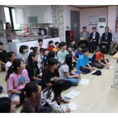 금강학교에서 4일 설교하는 한국장로교총연합회 대표회장 채영남 목사